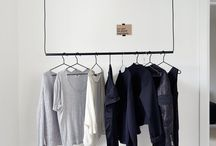 HANGING RAIL TRENDS / Visual merchandising, home decoration...