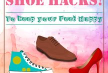 Genius Shoe Hacks! / Amazing shoe 'Tips' & 'Tricks' for all the shoe-obsessed people!