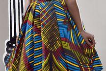 Fabulous african print staff