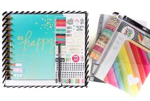 Planners / I love planners! They help me stay organized! Without a good planner, my months, weeks and days would be total chaos. Here are great tips, ideas, how-tos, and hacks for setting up, organizing, decorating (lot's of cute stickers and Washi tape) and using planners. Ideas for printables and custom inserts to make your planner layout better fit your unique needs. You'll see all types of planners on this board including The Happy Planner from Create 365 (my planner of choice) and Erin Condren.