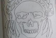 One stroke drawing
