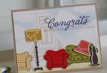Card: New home / Congrats on new home cards / by Vera