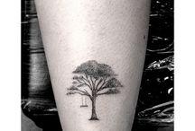 Dr. Woo tattoos / Tattoos of artist Dr. Woo at Shamrock Social Club in Hollywood