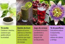 BEBIDAS Y BATIDOS PARA REDUCIR EL STRES-