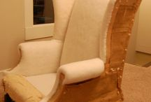 Armchair fabric