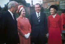 THE QUEEN WITH U.S. PRESIDENTS / by Judith Stevens