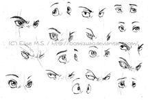 EYES art / Art of the eyes, drawing, illustrations, paintings, designs, photography