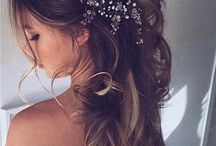 Wedding hair decorations