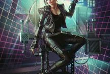synthwave cyberpunk
