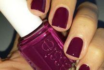 .polish nail polish on polish nails.