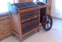 Squintani Platen press restoration / Squintani Model No. 6 treadle press.  c.130 years old and approx. 3/4 ton