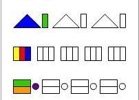 kolorowanie wg wzoru