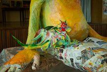 3D papier TH a papier mache / Naší činností od 23. prosince 2013 chceme navázat a navazujeme na historii města Rychnova u Jablonce nad Nisou. kde od roku 1780 fungovala manufaktura na výrobu dóz z tvrzeného papíru, která se těšíla ve své době světovému úspěchu ...poté zde byla v roce 1830 založena malířská škola, která dala základ všem umělecko - průmyslovým školám v kraji ...v období 18 století byla převedena do Jablonce nad Nisou (nyní Umělecko prúmyslová škola v Jablonci nad Nisou.