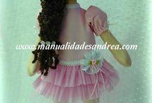 boneca com boina