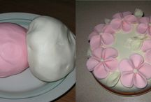 kvety z marshmallow cukrikov / kvety z marshmallow