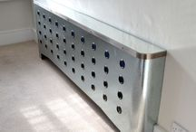 Metallic radiator covers