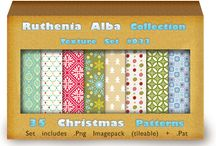 30 Refreshing Photoshop Christmas Pattern For 2013