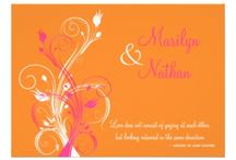 pink and orange wedding invitations uk / pink and orange wedding invitations uk