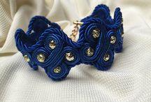 Soutache - my work - bracelets