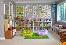 Playroom and study ideas
