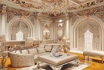 Classical living room