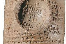 Syrian art Levantine artifacts / Syrian art - Syrian eye idol - Bird headed idol - Bird faced idol - Canaanite idol - Tell Brak - Syro Hittite  - Libation vase