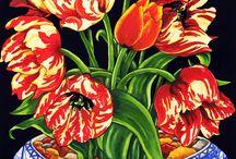çiçek natürmort