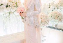 fashion hijab wedding