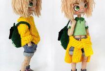 lalki szydełkowe DIY i rękodzieło