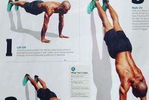 Zpevnění těla, cvičení, posilko