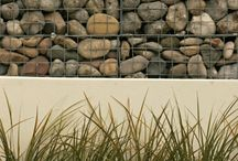 Gabion Ideas / gabion landscape and garden ideas