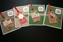 Holiday cards / Holiday cards - old pines
