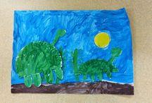 výtvarka / art lesson for kids