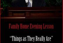 for FHE / Family Home Evening Ideas!
