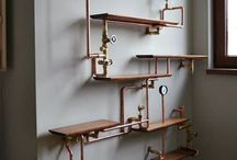 !!! Industrial Furniture & Home Decor / Interesting and unique ideas for the industrial style home