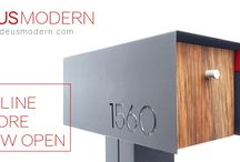 Deus Modern / Modern Product for Everyday.  Now selling our Modern Mailboxes online.