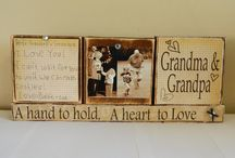 grandparents gifts / by Emily Scogin