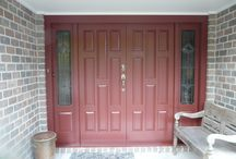 {Front door Hardware} / Images of all different styles and sizes  Hardware for new or old front doors