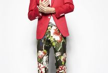 Pants (faves) / Fan of floral and patterened pants! Digging