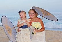 wedding flower girl special occassion dress / by Shirley Moss Martin