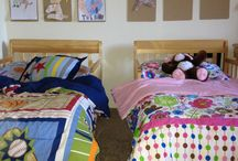 Boy girl room / by Julie Dickerson Savell