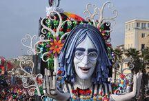 Carnevale di Viareggio 2014 / I grandi carri allegorici che hanno sfilato ai Corsi Mascherati 2014