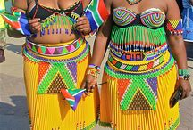 African Inspired Prints + Patterns