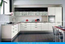 Cocinas / ¿Te gusta esta cocina? Visita http://www.servimania.es/ para pedir un presupuesto gratis.