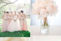 pink wedding colours