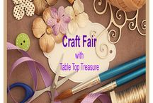 Craft Fair Events / If you love handmade craft items then you will love our craft fairs. Local Ladies and Gentlemen spend their valuable time making some truly amazing pieces for you.  To find out where our next Craft Fair is being held please visit our website www.tabletoptreasure.co.uk