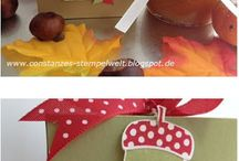 Stampin UP! Herbst