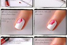 Nail art turorial