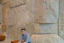 stone wall/interior