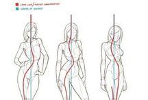 解剖学的な描き方